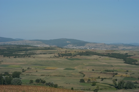 View from the tumulus